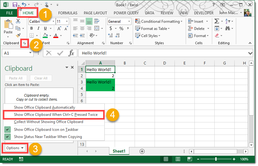 Step-001-How-To-Enable-The-Excel-Clipboard-Shortcut How To Enable The Excel Clipboard Shortcut