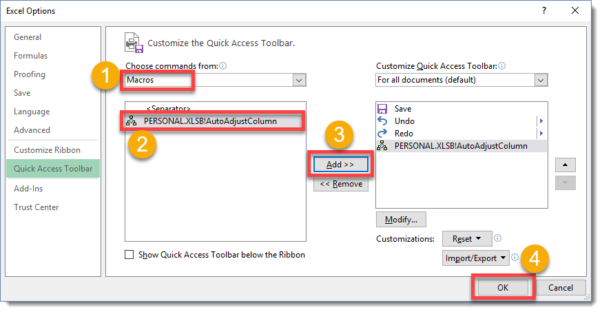 Step-002-How-To-Add-A-Macro-To-The-Quick-Access-Toolbar How To Add A Macro To The Quick Access Toolbar