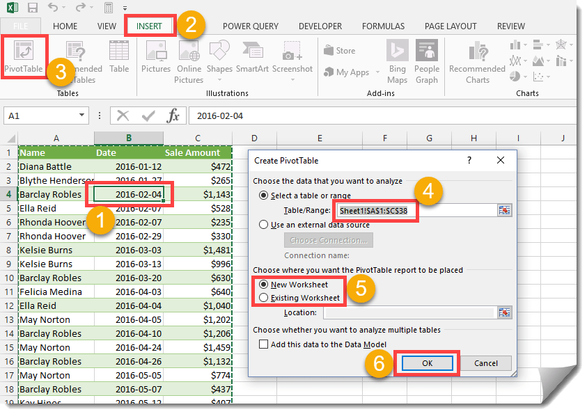 Step-004-How-To-Get-The-Unique-Items-From-A-List How To Get A List Of Unique Items From Your Data