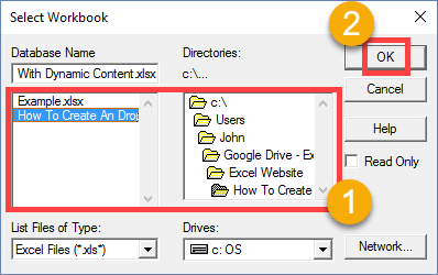 Step-005-How-To-Create-A-Drop-Down-List-With-Dynamic-Content How To Create A Drop Down List With Dynamic Content
