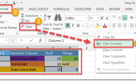 How To Clear All Formatting