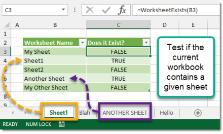 How To Check If A Worksheet Exists Using VBA
