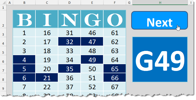 photo regarding Printable Bingo Calling Cards known as Bingo Template How In the direction of Excel