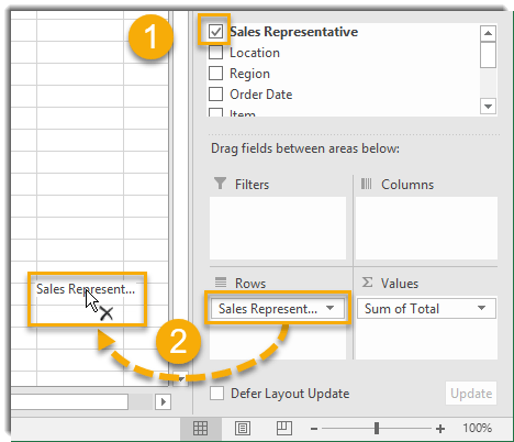 004-How-To-Create-A-Pivot-Table-Removing-Fields-From-A-Pivot-Table How To Build Your Pivot Tables