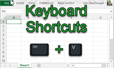 Essential Keyboard Shortcuts
