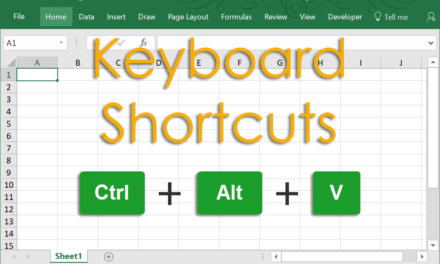 270+ Excel Keyboard Shortcuts