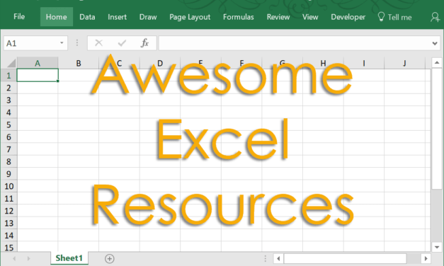 101+ Awesome Resources To Help You Learn Excel