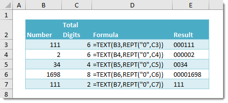 How-To-Add-Leading-Zeros-To-A-Number How To Add Leading Zeros To A Number
