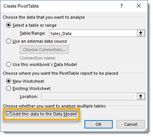 Add-This-to-the-Data-Model 101 Advanced Pivot Table Tips And Tricks You Need To Know
