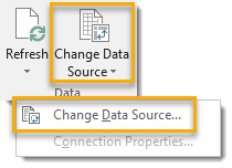Change-Data-Source-for-a-Pivot-Table 101 Advanced Pivot Table Tips And Tricks You Need To Know