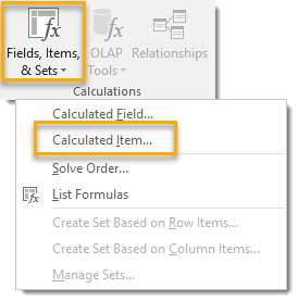 Create-a-Calculated-Item 101 Advanced Pivot Table Tips And Tricks You Need To Know