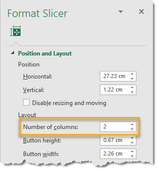 Format-Slicer-Change-Number-of-Columns 101 Advanced Pivot Table Tips And Tricks You Need To Know