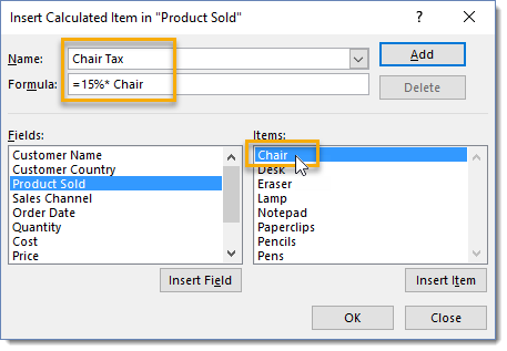 Insert-Calculated-Item-in-Product-Sold-Field 101 Advanced Pivot Table Tips And Tricks You Need To Know