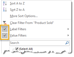 Label-and-Value-Filter-Both-Engaged 101 Advanced Pivot Table Tips And Tricks You Need To Know