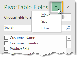 Move-Resize-Or-Close-The-PivotTable-Fields-Window 101 Advanced Pivot Table Tips And Tricks You Need To Know