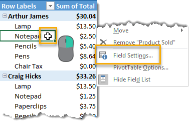 Open-Field-Settings-to-Show-Items-with-No-Data 101 Advanced Pivot Table Tips And Tricks You Need To Know