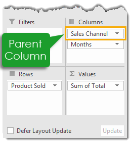 Parent-Column-in-a-Pivot-Table 101 Advanced Pivot Table Tips And Tricks You Need To Know
