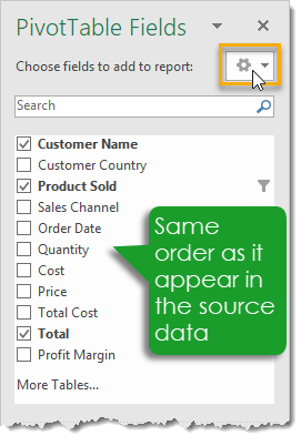 PivotTable-Fields-Default-Sort-Order 101 Advanced Pivot Table Tips And Tricks You Need To Know