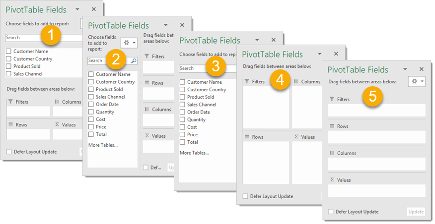 PivotTable-Fields-Window-Options 101 Advanced Pivot Table Tips And Tricks You Need To Know
