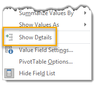 Right-Click-to-Show-Details 101 Advanced Pivot Table Tips And Tricks You Need To Know