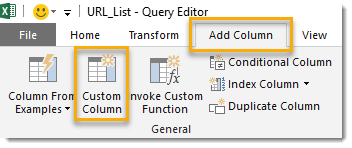 How-To-Extract-Data-From-Multiple-Webpages-Add-a-Custom-Column How To Extract Data From Multiple Webpages With Power Query