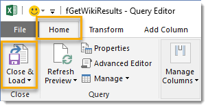 How-To-Extract-Data-From-Multiple-Webpages-Close-and-Load How To Extract Data From Multiple Webpages With Power Query