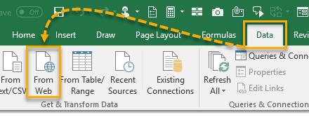 How To Extract Data From Multiple Webpages With Power Query