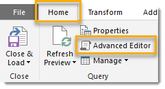 How-To-Parameterize-Your-Power-Query-Open-the-Advanced-Editor How To Parameterize Your Power Query