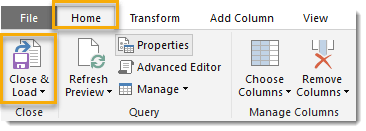 Close-and-Load-Power-Query How To Get A List Of File Names From A Folder And All Subfolders