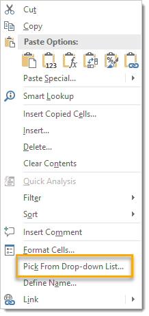 Right-Click-Menu-Pick-from-Drop-Down-List Right Click for a Drop Down List