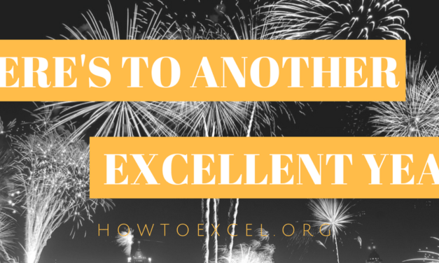 2017 Year in Review for How To Excel