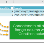 How To Conditionally Concatenate A Range