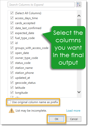 Select-Columns-to-Expand-for-Final-Output How To Access A JSON API With Power Query