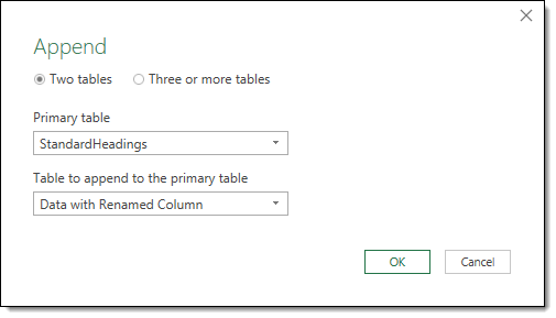 Append-the-Data-with-Renamed-Columns-to-the-Standard-Headings-Template-Query How to Deal with Changing Data Formats in Power Query