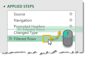 Moving-Steps-with-Click-and-Drag The Complete Guide to Power Query