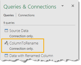 Single-Value-Query-in-the-Queries-and-Connections-Window How to Deal with Changing Data Formats in Power Query