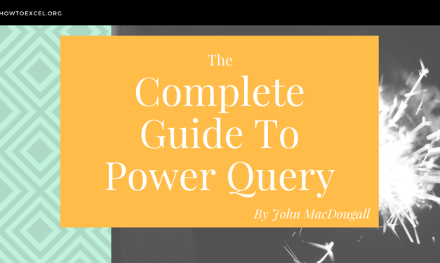 The Complete Guide to Power Query