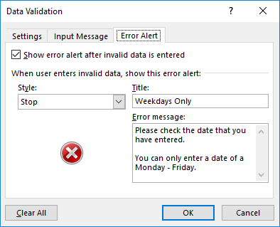 11-Awesome-Examples-of-Data-Validation-error-alert 11 Awesome Examples of Data Validation