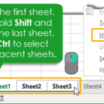 How To Automate Sorting, Hiding, Unhiding and Listing Your Sheets