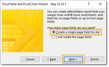 Step-2a-of-the-PivotTable-and-PivotChart-Wizard How To Combine And Unpivot With The Pivot Table Wizard