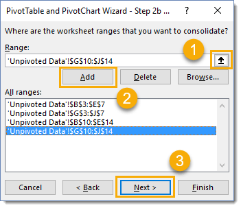 Step-2b-of-the-PivotTable-and-PivotChart-Wizard How To Combine And Unpivot With The Pivot Table Wizard