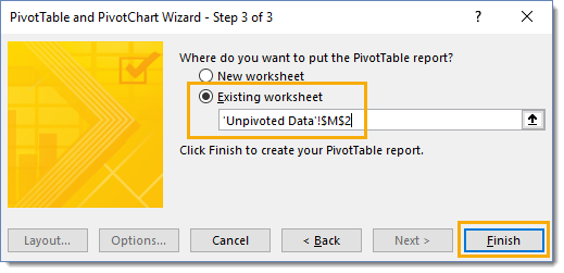 Step-3-of-the-PivotTable-and-PivotChart-Wizard How To Combine And Unpivot With The Pivot Table Wizard