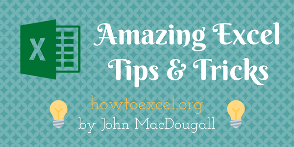 Amazing Excel Tips and Tricks
