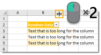Double-Click-to-Autofit-a-Column Amazing Excel Tips and Tricks