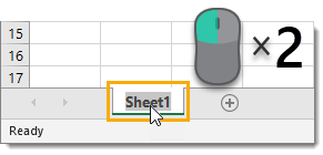 Double-Click-to-Rename-a-Sheet Amazing Excel Tips and Tricks