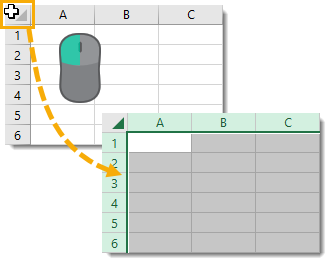 Select-the-Entire-Sheet Amazing Excel Tips and Tricks