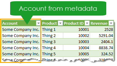 Added-Metadata-Query-Results Adding Metadata to a Report with Power Query
