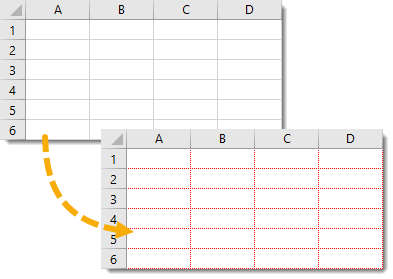Change-the-Gridline-Colour-for-any-Worksheet Amazing Excel Tips and Tricks