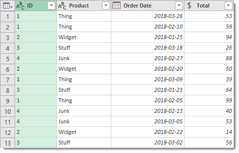 Clean-Up-Query Create Grouped Serial Numbers with Power Query