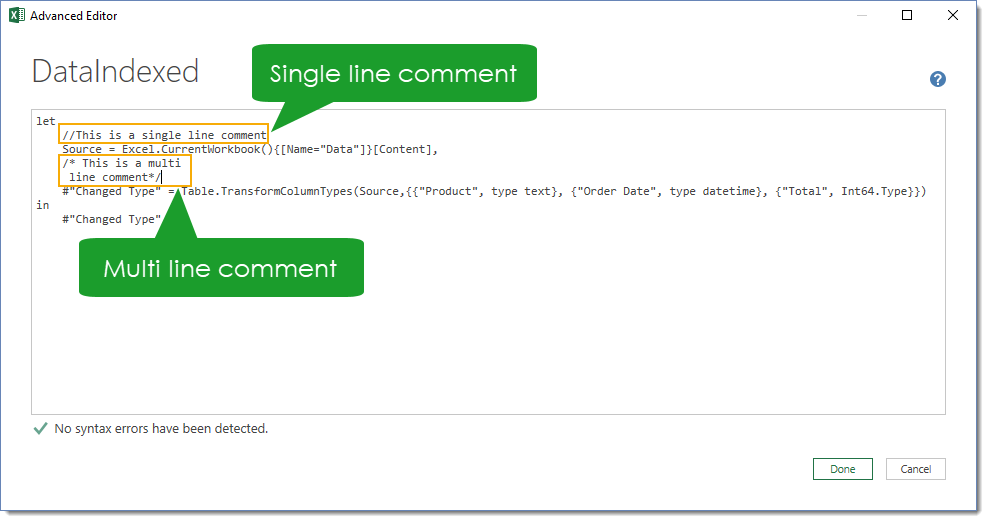 Comments-in-the-Advanced-Editor Amazing Power Query Tips and Tricks